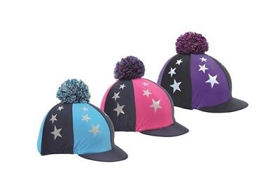 * Shires Pom Pom Hat Cover with Stars - All Colours! *