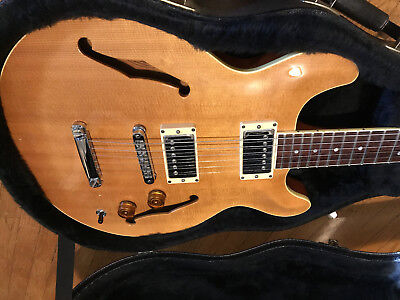 Hamer Newport Pro Usa Semi-Hollow Body Electric Guitar Near Mint Condition