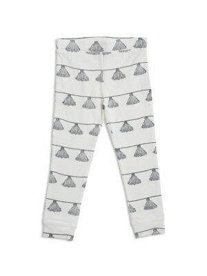 NEW Tassle cloud white leggings by Mad About Mini