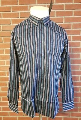e50f5a1aa25c8 Ted Baker London Long Sleeve Button Front Dress Shirt Mens Size 5 New w   Tags
