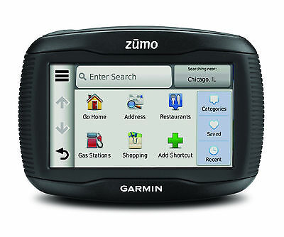 "GARMIN Zumo 345LM WE Motorcycle 4.3"" Sat Nav - with UK, ROI & Western Europe Map"