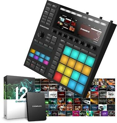 Native Instruments Maschine Mk3 & Komplete 12 Software