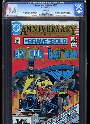 Brave And The Bold #200 Cgc 9.6 1St Katana And The Outsiders!!
