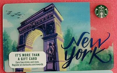 Starbucks Card New York Sammelkarte, Gift Card, Neu