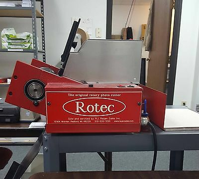 **Rotec Die Cutter** with Jo-Kat Power feeder and extra die