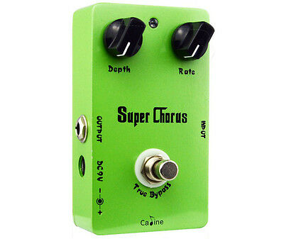 Caline CP-13 Super Chorus Guitar Effects Pedal (Shipped from China)