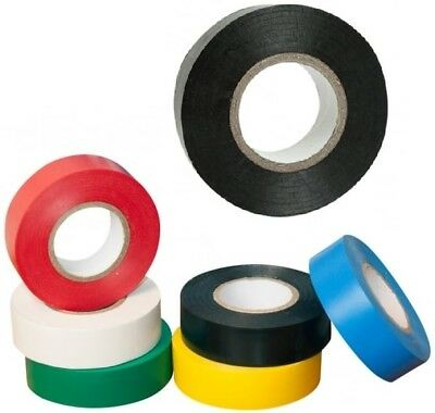 Electrical Pvc Insulation Insulating Tape 18Mm X 15M Roll Strong And Reliable