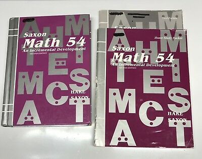 Saxon math 54 set second edition 54 textbook answer key test saxon math 54 set second edition 54 textbook answer key fandeluxe Choice Image