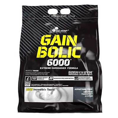 Olimp - Gain Bolic 6000 - 6800g Muskelaufbau, Weight Gainer, Hardgainer Mass