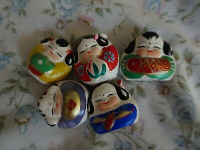 Asian  Chinese  Made Oriental Vintage figurines