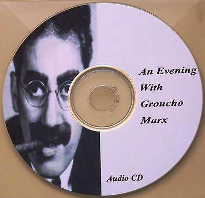 An Evening With Groucho Marx - Audio Book CD (Sony CD)