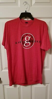 Garth Brooks Womens Red World Tour So Far T Shirt sz L