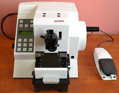 Microm Hm 360 Fully Automated Rotary Microtome With Foot Switch