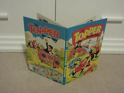 THE TOPPER BOOK, 1986-UNCLIPPED-VGC-LIKE BEANO/DANDY-No inscriptions
