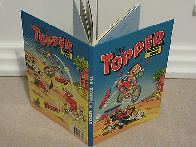 THE TOPPER BOOK, 1991-UNCLIPPED-VGC-LIKE BEANO/DANDY-No inscriptions