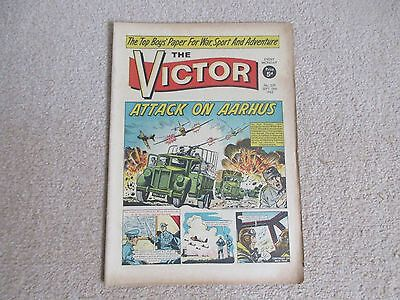 """THE VICTOR COMIC No 239 - Sept 18th 1965 -"""" Attack on Aarhus.""""-"""
