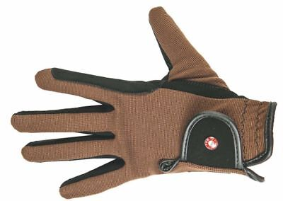 HKM ProTeam Adult Professional Nubuk Look Durable Breathable Horse Riding Gloves