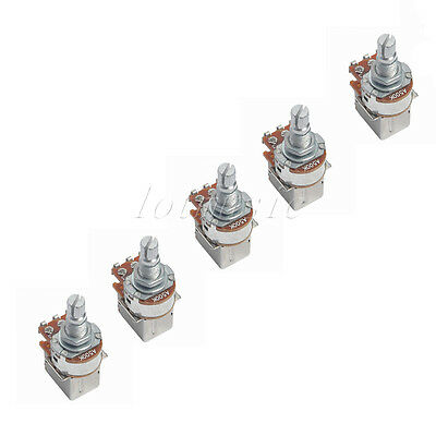 5 Pcs Push Pull A500K Guitar Cotrol Pot Potentiometers Switch Parts