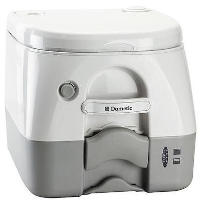 Dometic Grey Portable Toilet 2.6 Gallon -  High Strength ABS Construction