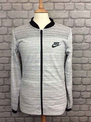 c10d529b114982 Nike Mens Uk S Advance Adv Knit Track Top Grey Black Jacket  rare  Christmas