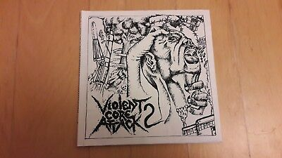 Violent Core Attack vol. 2 Various Artists EP Urban Trash, Existench, CrazyHead