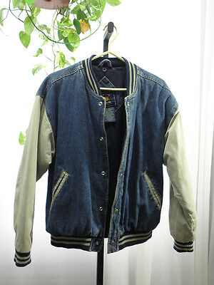 Route 66 100% Cotton Vintage Front Snap Closure Bomber/Jacket Size:  Small/Chic
