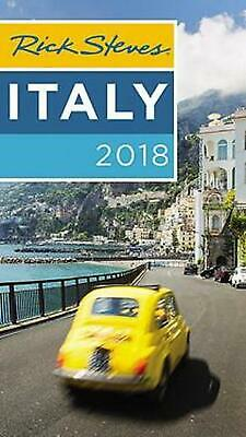 Rick Steves Italy 2018 by Rick Steves Paperback Book Free Shipping!