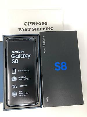 Unlocked New Samsung Galaxy S8 SM-G950U 64GB GSM AT&T World Phone