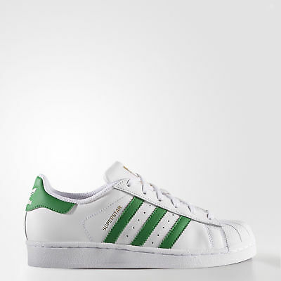 New adidas Originals Superstar Shoes S81017 Kids' White Sneakers