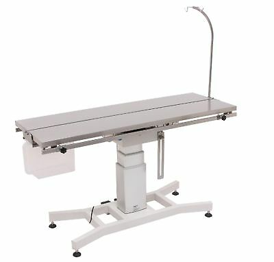 FT-886 Veterinary Surgical Operating Table w/Electric Danish Lift Center Column