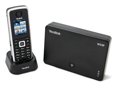 Yealink W52P DECT Base with W52H Handset- POE