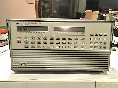 Hp 3852A Data Acquisition / Control Unit With Two Modules Hp3852A