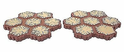 Heroscape 7-Hex Tan Brown Replacement Sand Terrain Tiles - Lot of 2 Pieces