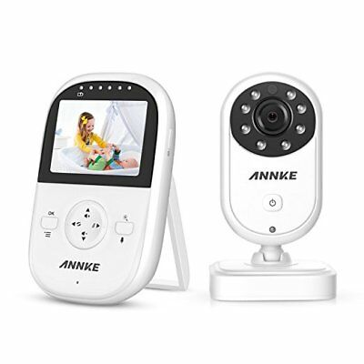 Premium Wireless Baby Monitor By ANNKE - Built-In Camera & Clear Two-Way Audi...