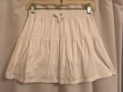 The Childrens Place White 2 tired Skort Size L 10/12