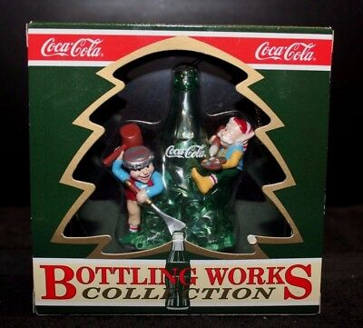 Coca-Cola Bottling Works Collection Ice Sculpting Ornament - NIB