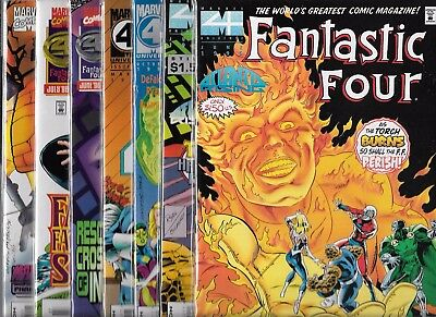 Fantastic Four Lot Of 7 - #401 402 #405 #410 #413 #414 #415 Onslaught (Nm-)