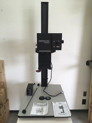 "Saunders LPL 4550XLG 4x5"" Enlarger w/VCCE K&IF Module VERY LIGHTLY USED"