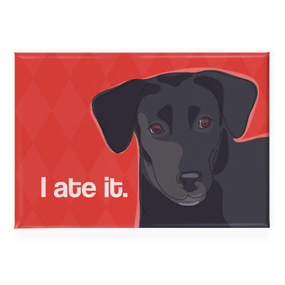 Labrador Retriever Fridge Magnet - Black Lab Says I Ate It - Funny Dog Gifts