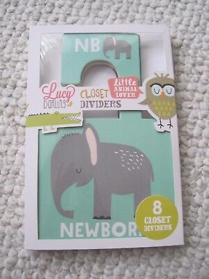 nib Lucy Darling Closet Dividers Little Animal Lover