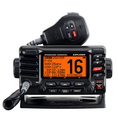Standard Horizon Explorer GX1700B GPS Fixed Mount VHF - Black [GX1700B]