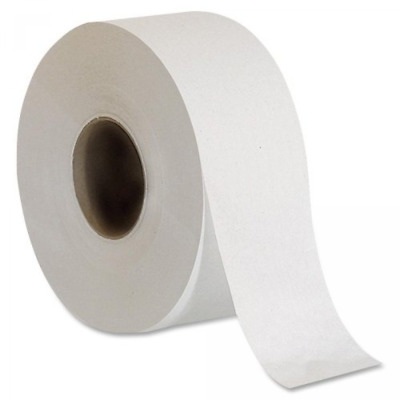 Jumbo Large Roll Toilet Paper Tissue 2-ply Commercial Bathroom Office Case Of 8