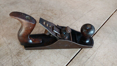 Antique Vintage HSB & Co H.S.B. No. # 3 Smooth Hand Wood Plane Woodworking