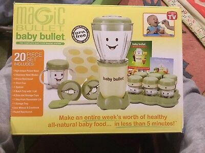Magic Bullet Baby Bullet Food Making System - 20 Piece Storage