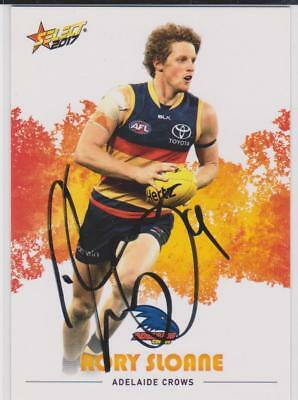 AFL Select 2017 Rory Sloane Signed Adelaide Crows Card