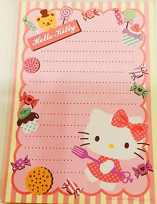 Hello Kitty:  Cake K/T Memo Pad With 80 Sheets