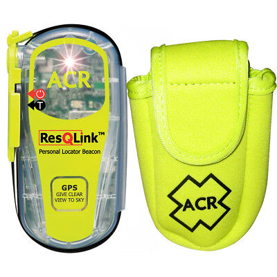 ACR PLB Rescue Kit Includes ResQLink406 MHz GPS PLB  Floating Pouch [PLB-KIT1]