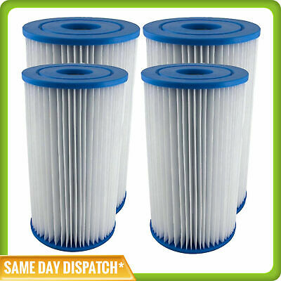 4 x INTEX TYPE A / KRYSTAL CLEAR POOL CARTRIDGE FILTER ELEMENT – FREE SHIPPING