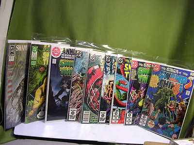 Lot 9 The SAGA of the SWAMP THING #1,3,6,18,29,30+Annual #1,3,5 / L@@K ! /
