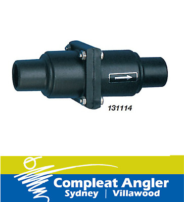 WHALE Plastic Non-Return Valve BRAND NEW At Compleat Angler